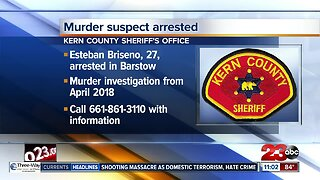 Suspect in Rosamond murder arrested by police in Barstow