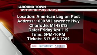 Around Town 4/10/19: 2nd Annual Spaghetti Dinner