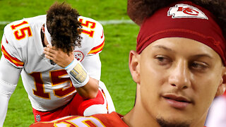 Patrick Mahomes Gets CALLED OUT On Twitter For Flopping Like LeBron James