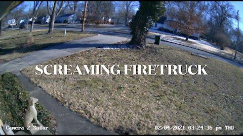 Screaming Firetruck