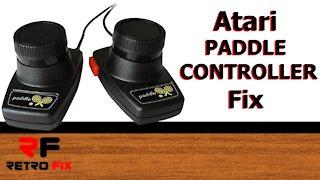 How to fix an Atari Paddle controller