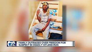 Family outraged over freedom for suspect in deadly hit-and-run