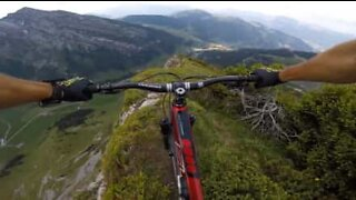 Ville du turde at cykle på dette bjerg?