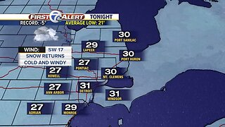 Snow arrives tonight for morning drive