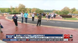 Early voting underway