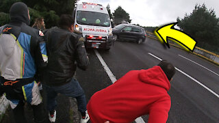Extreme Close Call and Near Miss (Road Accident)