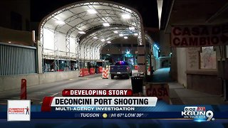 CBP officer involved shooting closes Deconcini Port of Entry