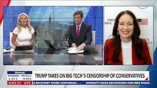 Trump Files Class ACTION Lawsuit Against big Tech