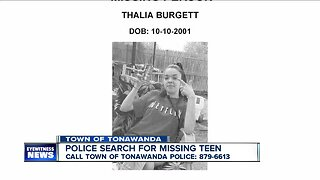 Police searching for missing Town of Tonawanda teen