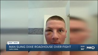 Man suing Dixie Roadhouse over fight