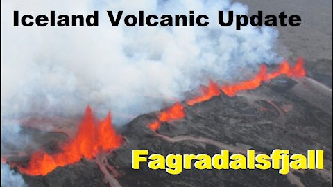 Iceland Fagradalsfjall Volcano Update - Magma Intrusion Update - Seismic Swarm & Inflation Breakdown