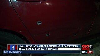 Man recounts shooting in southwest Bakersfield