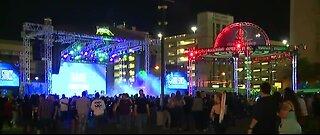 Area 51 Celebration underway in downtown Las Vegas