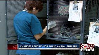 Changes pending for Tulsa Animal Shelter