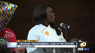 San Diego program transforming lives in the kitchen