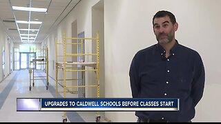 Caldwell schools getting upgrades before academic year begins
