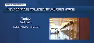 Nevada State College Virtual open house today