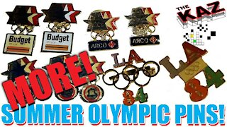 MORE! 1984 Summer Olympic Games Pins