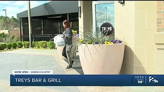 We're Open Green Country: Treys Bar and Grill Supporting Employees Through Pandemic