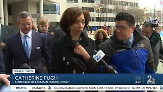 Judge sentences Pugh to three years in federal prison