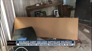Local insurance agent discusses earthquake coverage