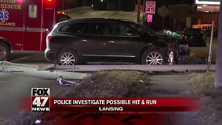 Police investigate possible hit and run
