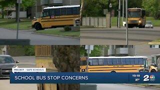 School bus student drop-off location worries parents