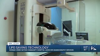 Okemah Creek Nation Community Hospital launches mammography services
