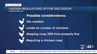 Overland Park committee to discuss new chicken regulations