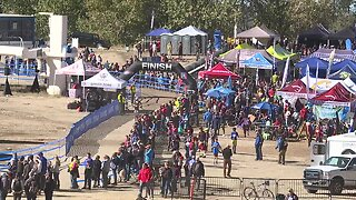 People pack Bogus Basin for mountain bike racing state championship