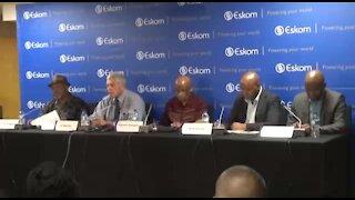 SOUTH AFRICA - Johannesburg - Eskom Press Briefing (Video) (hnh)