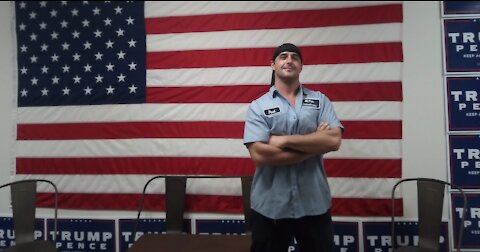 """First Jan 6th Patriot """"Felon"""" Punished for Carrying a Trump Flag"""