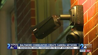 Communities throughout Baltimore work together to help police