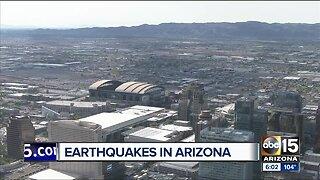 Where in Arizona we could see an earthquake