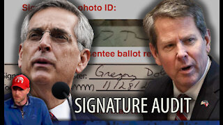 Georgia Announces STATEWIDE Signature Audit - Trump Supporters Call for Insurrection Act