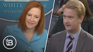 Fox News Reporter Destroys Jen Psaki Over REAL Reason There's a Lack of Workers