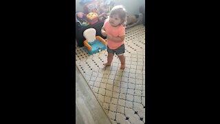 Baby dancing!!