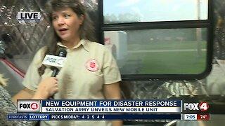 Salvation Army unveils new mobile unit