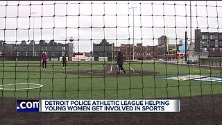 Detroit Police Athletic League helping young women get involved in sports