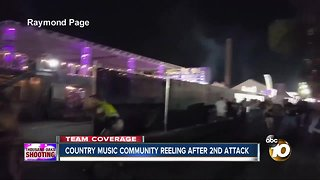 country music community reeling after 2nd attack