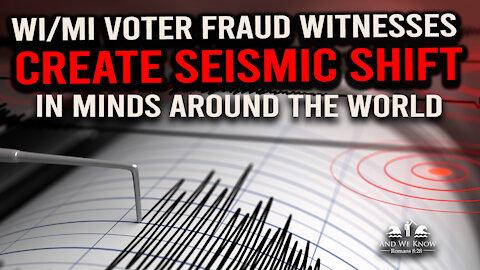 12.2.20: WI/MI Voter FR@UD EXPOSURE creates SEISMIC shift in MINDS worldwide!