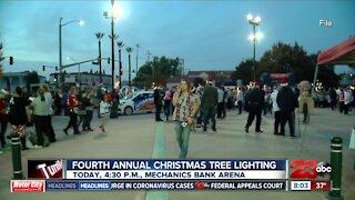 Fourth Annual Christmas Tree Lighting ceremony