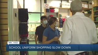 Parents struggle whether to buy school uniforms for upcoming year