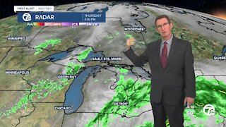 Drier this weekend