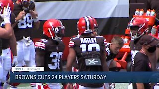 Cleveland Browns announce initial 53-man roster, subsequent cuts