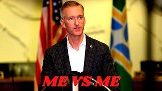 Portland Mayor Debates Portland Mayor on City Violence