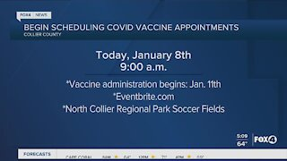 Collier County vaccines being scheduled