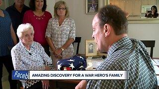 Historian reunites Kenosha war hero's family with piece of history