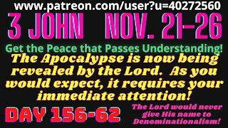 3 John All preachers (indeed the whole world) will be silenced Habakkuk 2:20