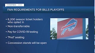 Welcome back, Bills Mafia: official plan announced for fans to attend playoff game at Bills Stadium